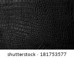 Black Leather Background And...