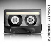 tape cassette | Shutterstock .eps vector #181754075
