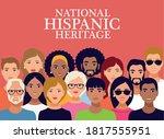 national hispanic heritage... | Shutterstock .eps vector #1817555951