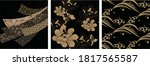 japanese seamless pattern and... | Shutterstock .eps vector #1817565587