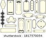 chinese frame decorative frame... | Shutterstock .eps vector #1817570054