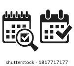 Save Date In Calendar Vector...