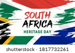 heritage day in south africa.... | Shutterstock .eps vector #1817732261