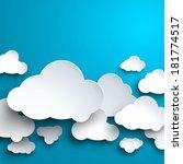 vector template for... | Shutterstock .eps vector #181774517