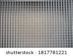 Metal Grille On The Floor Of...