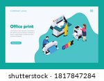 office print ui page design