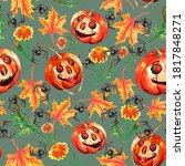 Mega Popular Halloween Seamless ...