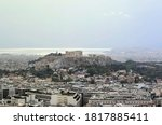 Aerial View Of Athens With...