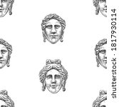 Seamless Pattern Of Sketches...