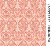 seamless vintage vector... | Shutterstock .eps vector #1818123017