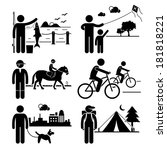 active,activities,bicycle,biking,black,camping,cartoon,clipart,concept,cycling,dog,enjoyment,equine,figure,fishing