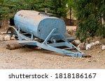 Abandoned Car Tank At The...