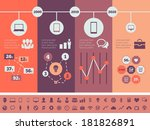 Technology Infographic Elements. Vector Illustration EPS 10. - stock vector