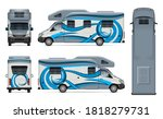 recreational vehicle vector... | Shutterstock .eps vector #1818279731