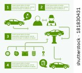car auto service brochure... | Shutterstock .eps vector #181830431