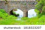 Old Stone Double Arch Bridge....