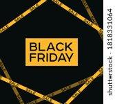 black friday  cyber monday big...   Shutterstock .eps vector #1818331064