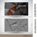 card design | Shutterstock .eps vector #181834094