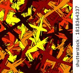 multi color seamless background.... | Shutterstock .eps vector #1818364337