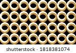 seamless abstract circular... | Shutterstock .eps vector #1818381074