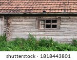 A Large Old Wooden House In An...