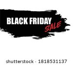 black friday holiday sale... | Shutterstock .eps vector #1818531137