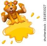 illustration of an empty... | Shutterstock . vector #181853327