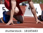 track and field | Shutterstock . vector #18185683
