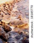 violent sea coast | Shutterstock . vector #18185770