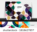collection of stylish geometric ... | Shutterstock .eps vector #1818627857