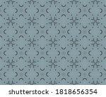 Blue Indian Endless Design....