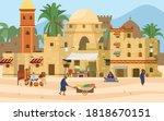 vector illustration of middle... | Shutterstock .eps vector #1818670151
