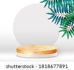 abstract scene background.... | Shutterstock .eps vector #1818677891