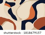 modern minimal illustration... | Shutterstock .eps vector #1818679157