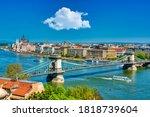 Panoramic View Of The Danube...