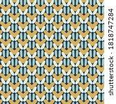 knit woolen fabric seamless... | Shutterstock .eps vector #1818747284
