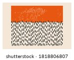 minimalist 20s geometric...   Shutterstock .eps vector #1818806807