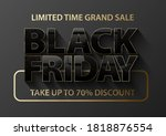 Black Friday Vector Banner....