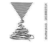 degradation from order to...   Shutterstock .eps vector #1818883514