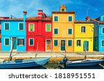 Colorful Houses Of Burano...