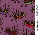 Vector Seamless Violet Pattern...