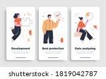 poster  flyer or mobile...   Shutterstock .eps vector #1819042787
