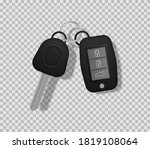 set of electronic car key front ... | Shutterstock .eps vector #1819108064