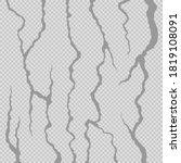 crackle. realistic fracture in...   Shutterstock .eps vector #1819108091