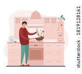 vector illustration of modern... | Shutterstock .eps vector #1819128161