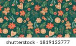 christmas and happy new year... | Shutterstock .eps vector #1819133777