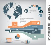 Statistics Icons And Charts Se...