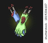 Zombie Hand Togetherness...