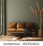 Modern Dark Green Home Interior ...