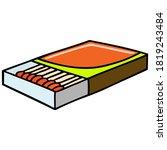 matches vector illustration...   Shutterstock .eps vector #1819243484
